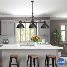 Kitchen Island Pendant Light 3 Light Kitchen Island Pendant Kitchens Design