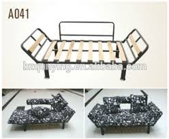 folding sofa bed frame big sale small folding sofa bed frame with metal tube structure and