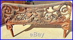 Fireplace Grate Cast Iron by Rare Antique Figural Northwind Greenman Cast Iron Fireplace Grate