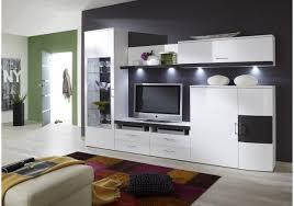 Wohnzimmerschrank 300 Cm Wohnwand Weiss Hochglanz Graphit Woody 97 00096 Woody Möbel