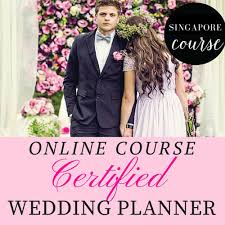 certified wedding planner wedding planner certification course singapore