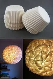 kreative ideen diy lenschirm aus papierförmchen für muffins selber basteln