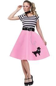 50 theme costumes hairdos brand new 50 s soda shop sweetie adult halloween costume ebay