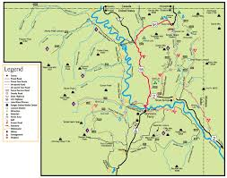 East River Ferry Map Recreation Around Bonners Ferry Idaho With Map