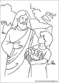 john baptist coloring baptism sunday