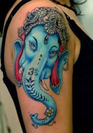 realistic elephant ganesh hybrid by krysta casey u0027s tattoo in
