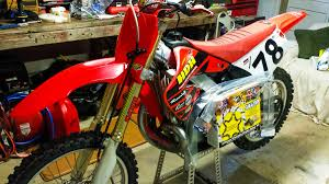motocross race numbers cr250 front fender conversion tech help race shop motocross