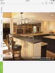 Kitchen Peninsula With Seating by Counter Height Or Bar Height Kitchen Seating