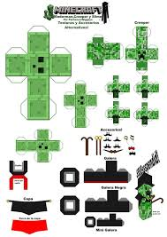 210 best minecraft paper craft images on pinterest cake ideas