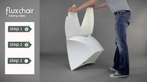 flux chair folding instructions www theidealpad co uk youtube