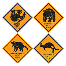 australia day 4 aussie outback bush road signs decorations