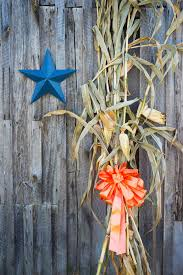 Corn Stalks And Fall Decorations The Side A Country Barn
