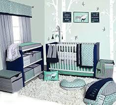 Nursery In A Bag Crib Bedding Set Bacati Noah Tribal 10 Nursery In A Bag Cotton
