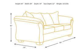 sofa depth 7500238 in by ashley furniture in longview tx sofa