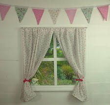 Playhouse Curtains Fabric Outdoor Toy Playhouses Ebay