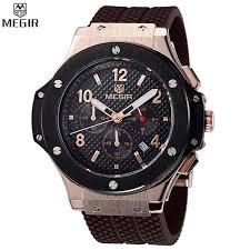 watches chronograph aliexpress com buy megir chronograph sport top luxury