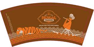 Coffee Cup Design by Bengal Traders Coffee U2013 Promo Tools Challenge Happiness Runs