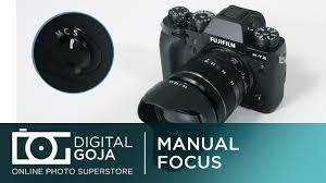 fujifilm x t2 puedo hacer el enfoque manual vídeo youtube