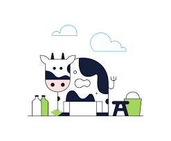 free cartoon cow vector vector art u0026 graphics freevector com
