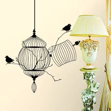 poster color picture more detailed about new new elegant free birds wall sticker high quality fashion design home decro