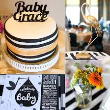 white and gold baby shower sophisticated baby shower in black white and gold popsugar