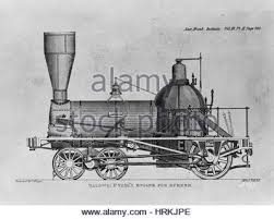 illustration of a steam train locomotive with american stars and