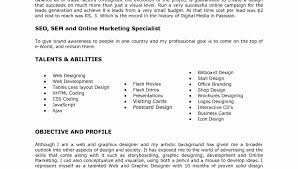 Sle Good Resume Objective 8 Exles In Pdf Word - web designer resume sle exles template best objective sles