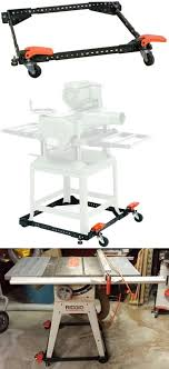 universal table saw stand with wheels jacks and stands 43593 universal mobile base for table saw joiner
