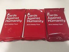 cards against humanity expansion cards against humanity expansion 2014 2013 2012 pack ebay