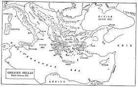 Aegean Sea Map Smith Andrew Humanities
