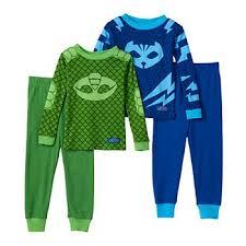 toddler boy pj masks gekko catboy 4 pc pajama set l s style