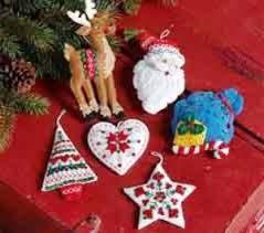bucilla felt ornament kits supply craft