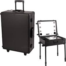 professional makeup lights black professional rolling studio makeup with touchscreen