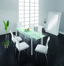 4 Dining Room Chairs Chemistry Dining Room Set Table 4 Chairs White By Creative
