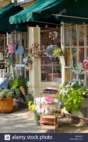 Downtown Cape Cod - storefront in downtown falmouth cape cod massachusetts stock