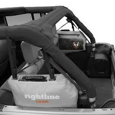 jeep wrangler gear rightline gear jeep wrangler jk 4 dr gray side storage bag