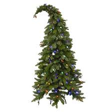 d4 5 ft pre lit theodor whimsical christmas tree at home at home