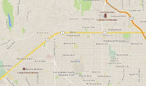 Map Of Beverly Hills Los Angeles by Pretty Woman Map Png