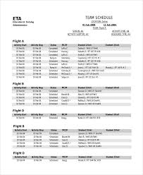 driver schedule template sports scheduling template expin franklinfire co