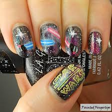 star wars 40 great nail art ideas for movies painted fingertips