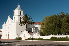California Missions Map San Luis Rey De Francia California Mission Guide