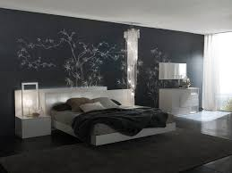 bedroom monochromatic bedroom with black painted wall with bamboo