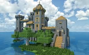 Castle Maps For Minecraft Http Minecraftgallery Com Wp Content Uploads 2012 07 Isolate