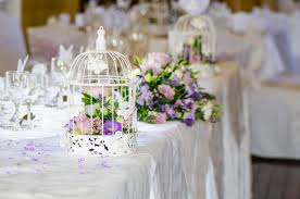 brilliant pink and purple wedding candy bar with wedding day table