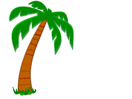palm tree leaves clipart 21