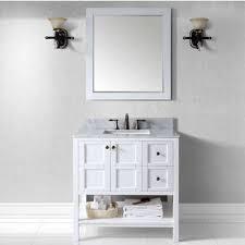 Marble Top For Bathroom Vanity Bathroom Vanities By Virtu Usa Freestanding U0026 Wall Mounted