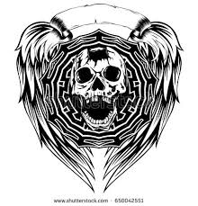 skull tattoo stock images royalty free images u0026 vectors