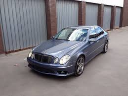 2003 mercedes benz e55 amg kompressor 575 bhp rare blue only