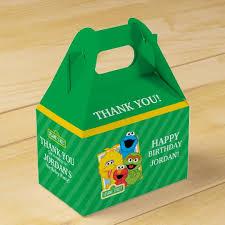 Birthday Favor by Sesame Pals Birthday Favor Box Zazzle