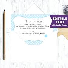 sles of thank you notes thank you card wording for baby shower gift image bathroom